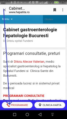 Cabinet medical in Clinica Sante Bucuresti